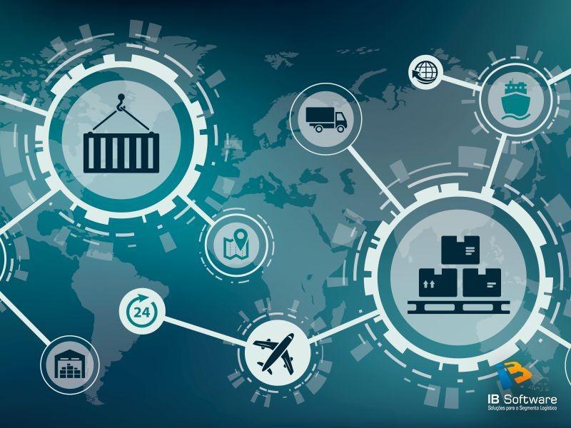 Software para gestão de logistica e frete
