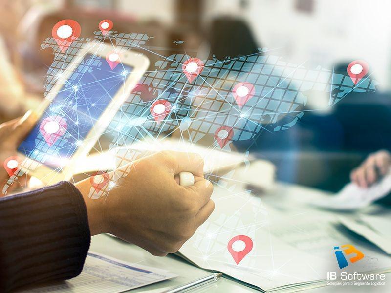 Software de rastreamento de entregas